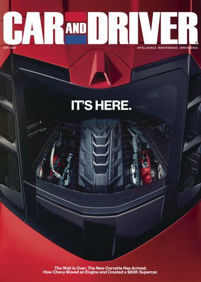 Car & Driver USA magazine cover