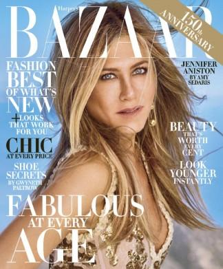Harpers Bazaar USA magazine cover