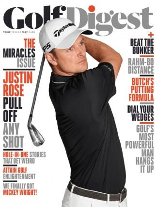 Golf Digest USA magazine cover