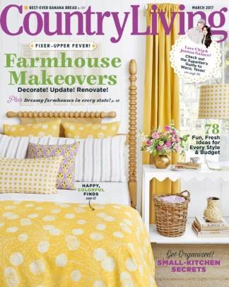 Country Living USA magazine cover
