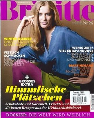 Brigitte German magazine cover