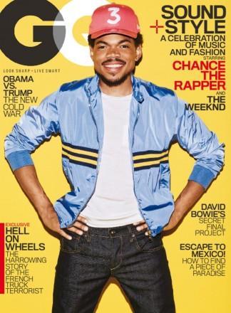 GQ American Edition magazine cover
