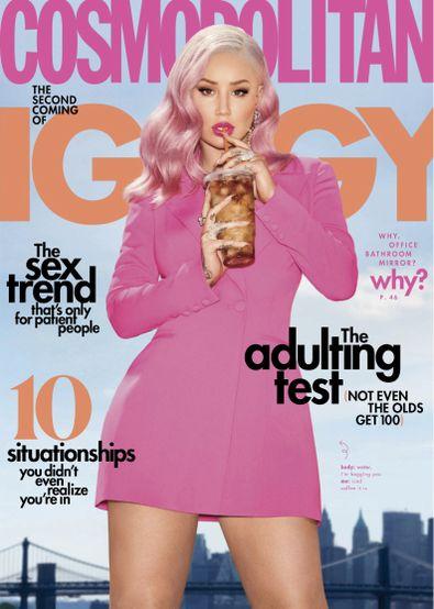 Cosmopolitan USA magazine cover