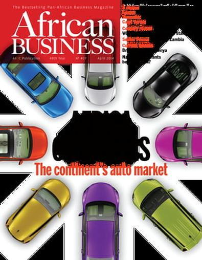 African Business (UK) magazine cover