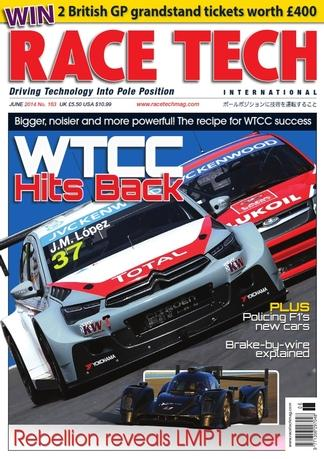 Race Tech (UK) magazine cover