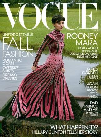 VOGUE USA magazine cover