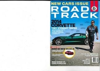 Road & Track magazine cover
