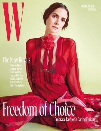 W Magazine cover