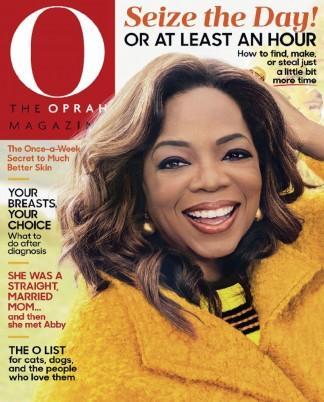 O THE OPRAH MAGAZINE cover