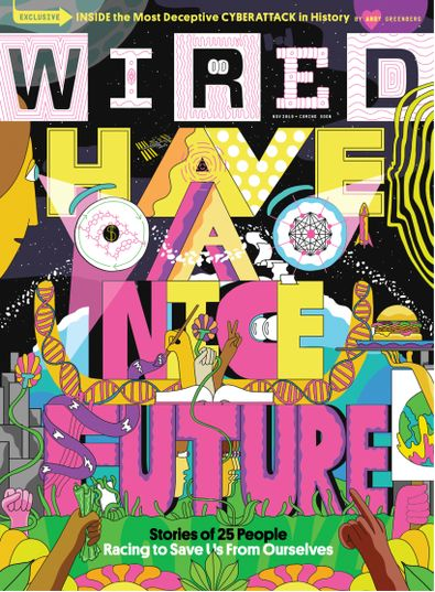 WIRED USA magazine cover