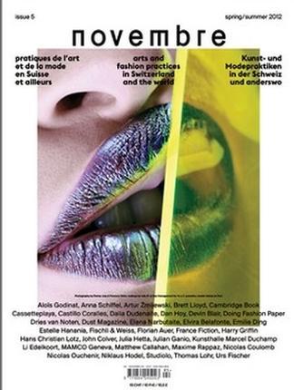 Novembre magazine cover