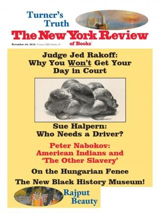 New York Review Of Books magazine cover