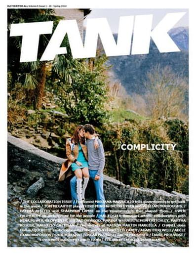 Tank (UK) magazine cover