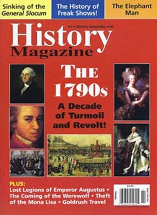 History (UK) magazine cover