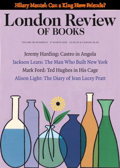 London Review Of Books (UK) magazine cover