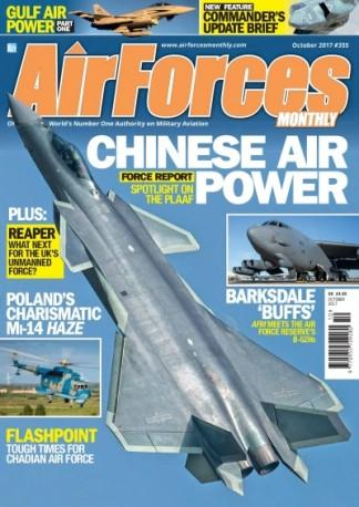 AirForces Monthly (UK) magazine cover