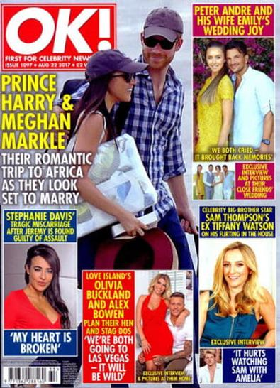 OK! (UK) magazine cover