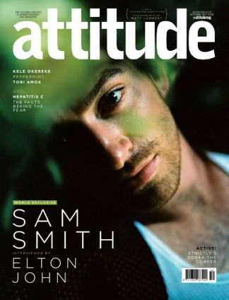 Attitude (UK) magazine cover