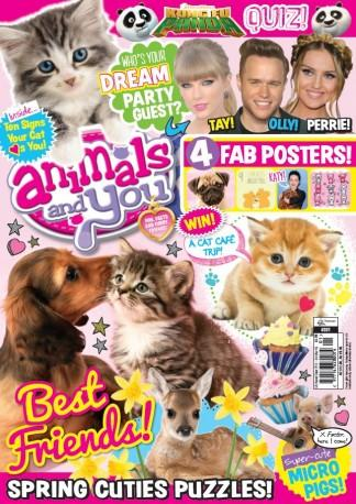Animals and You (UK) magazine cover