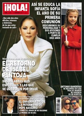 Hola! magazine cover