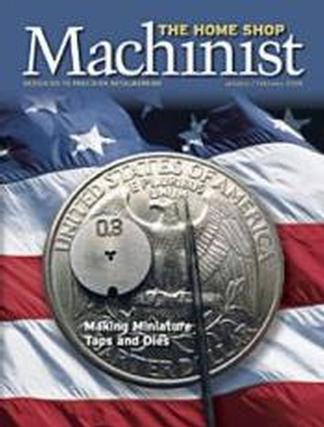 Home Shop Machinist (USA) magazine cover