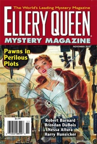 Ellery Queens Mystery Magazine (USA) cover