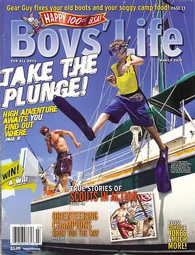 Boys' Life (USA) magazine cover
