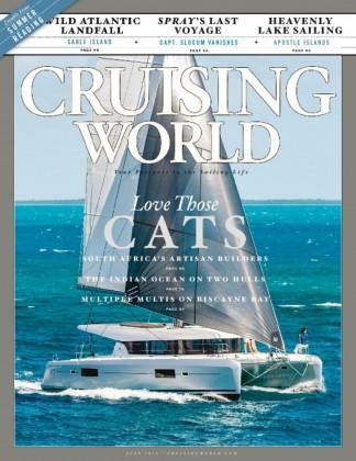 Cruising World (UK) magazine cover