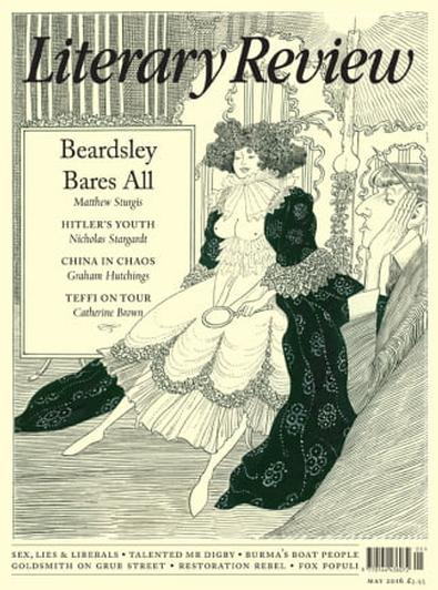 Literary Review (UK) magazine cover