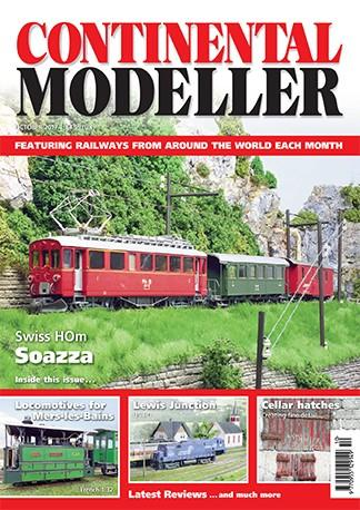 Continental Modeller (UK) magazine cover