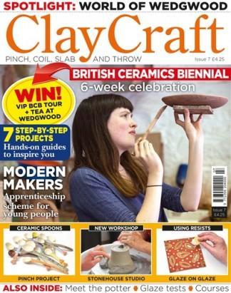 ClayCraft (UK) magazine cover