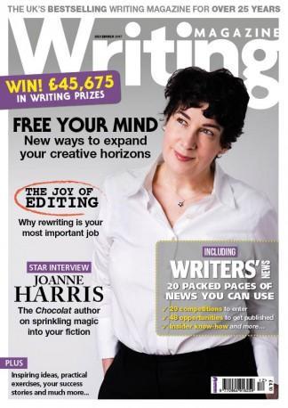 Writing magazine (UK) cover