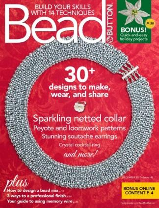 Bead & Button (USA) magazine cover
