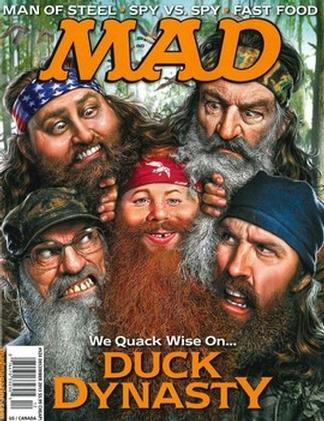 MAD (USA) magazine cover