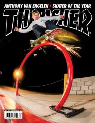 Thrasher (USA) magazine cover