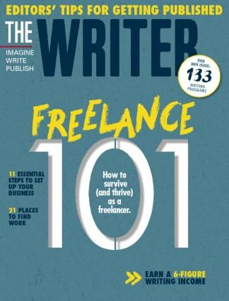 The Writer (USA) magazine cover