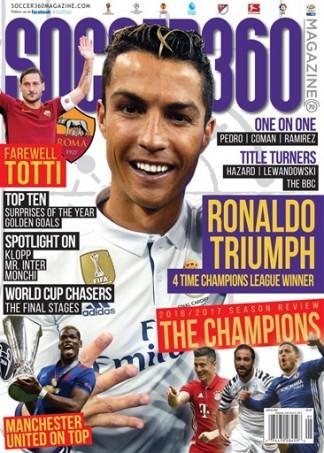 Soccer 360 (USA) magazine cover