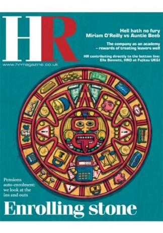 HR (UK) magazine cover