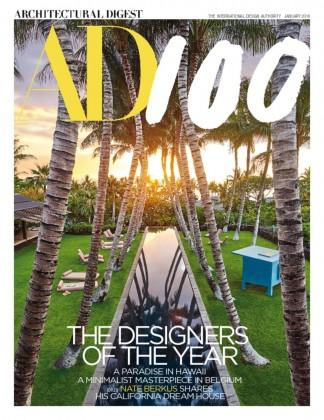 ARCHITECTURAL DIGEST (USA) magazine cover