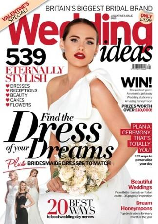 Wedding Ideas (UK) magazine cover