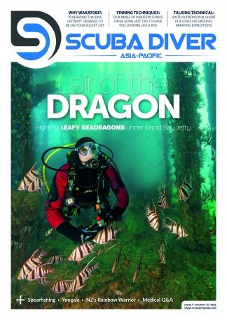 Scuba Diver Asia Pacific (UK) magazine cover