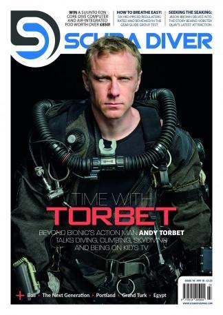 Scuba Diver Magazine (UK) cover