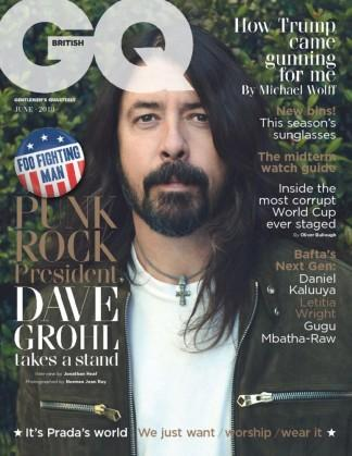 GQ (UK) magazine cover