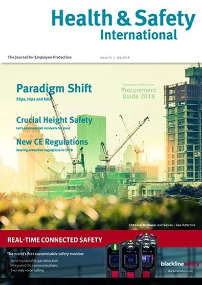 Health & Safety International (UK) magazine cover