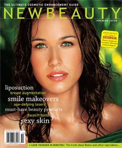 New Beauty Magazine (UK) cover