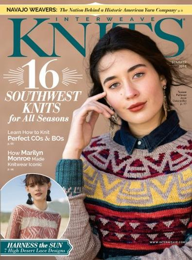Interweave Knits (US) magazine cover