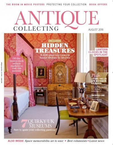 Antique Collecting (UK) magazine cover