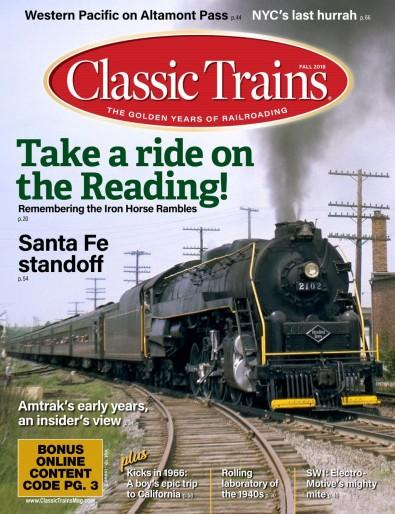 Classic Trains (US) magazine cover