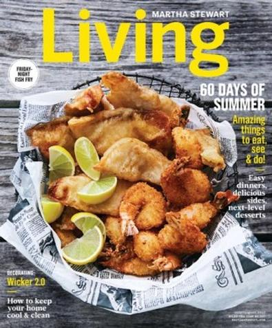 Martha Stewart Living (US) magazine cover