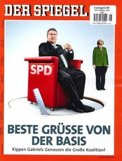 Der Spiegel (GER) magazine cover